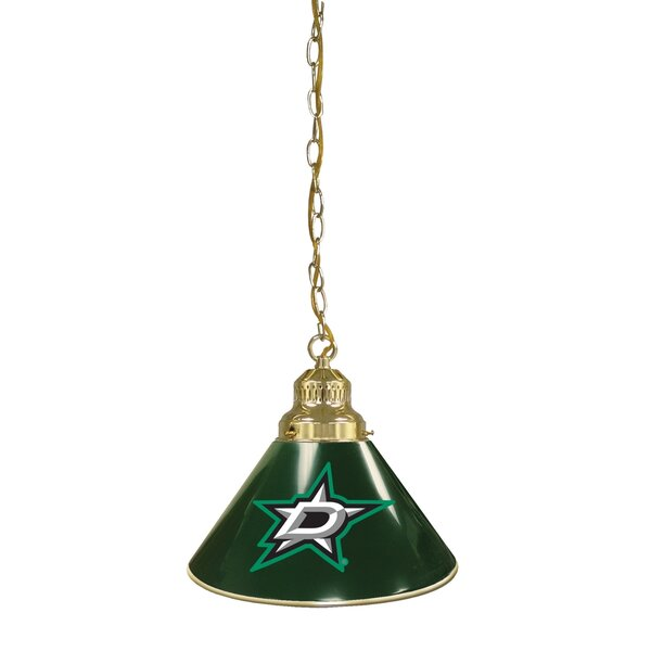 NHL 1-Light Cone Pendant by Holland Bar Stool
