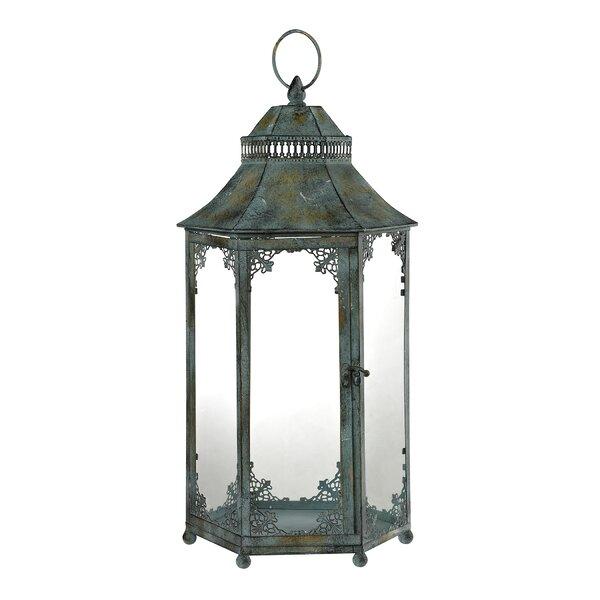 Aged Iron Lantern by World Menagerie