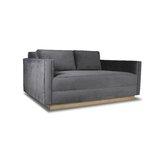 Picariello Velvet 72 Square Arm Sofa by Orren Ellis