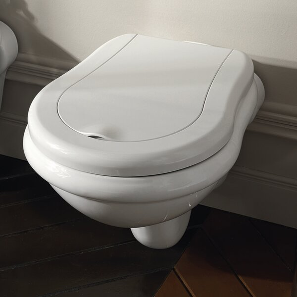Kerasan Retro Dual Flush Elongated Toilet Bowl by WS Bath Collections