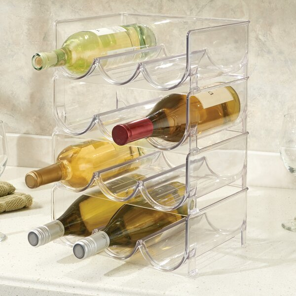 Fridge Freeze Binz 12 Bottle Tabletop Wine Bottle Rack by iDesign iDesign
