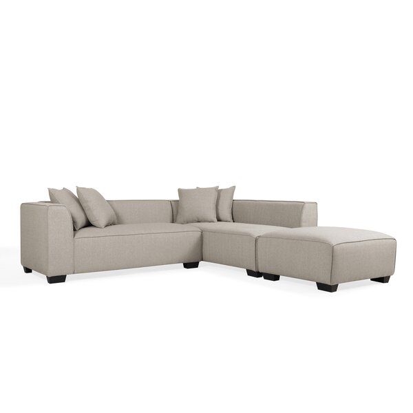 Daniella Modular Sectional with Ottoman by Modern Rustic Interiors