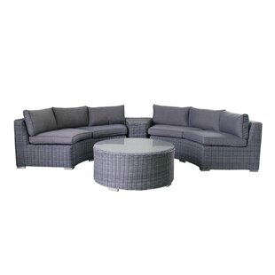 4 Piece Sofa Set with Cushions By Magari
