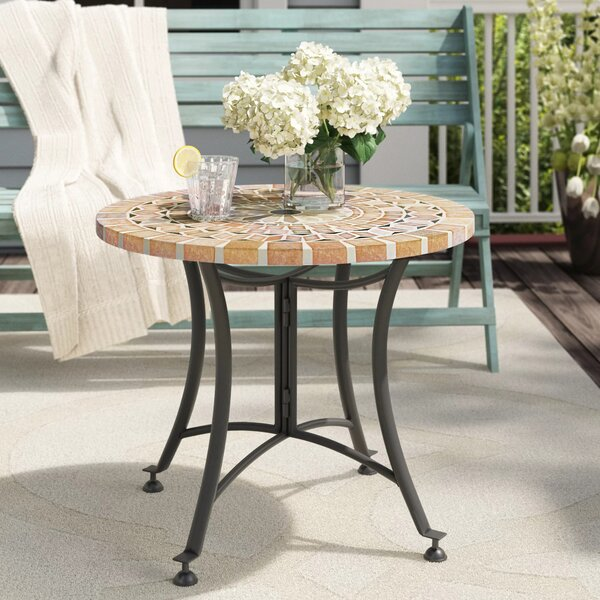 Moira Side Table by Beachcrest Home