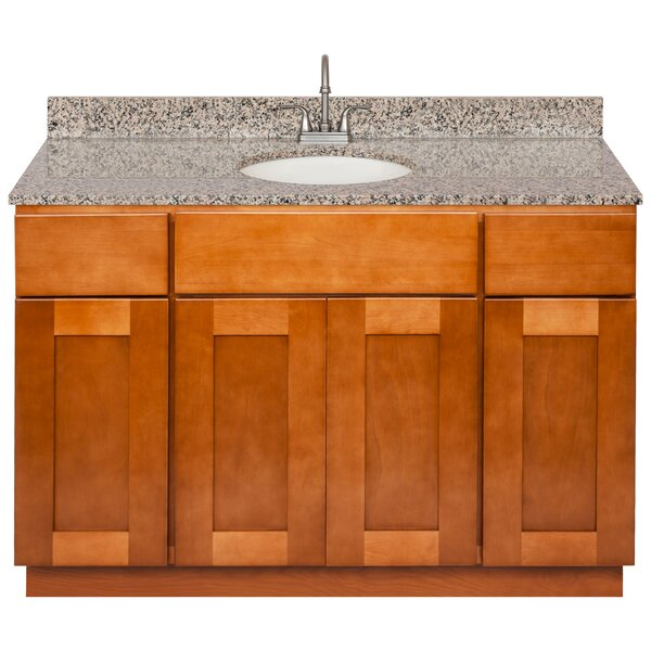 Straley 48 Single Bathroom Vanity Set by Winston Porter