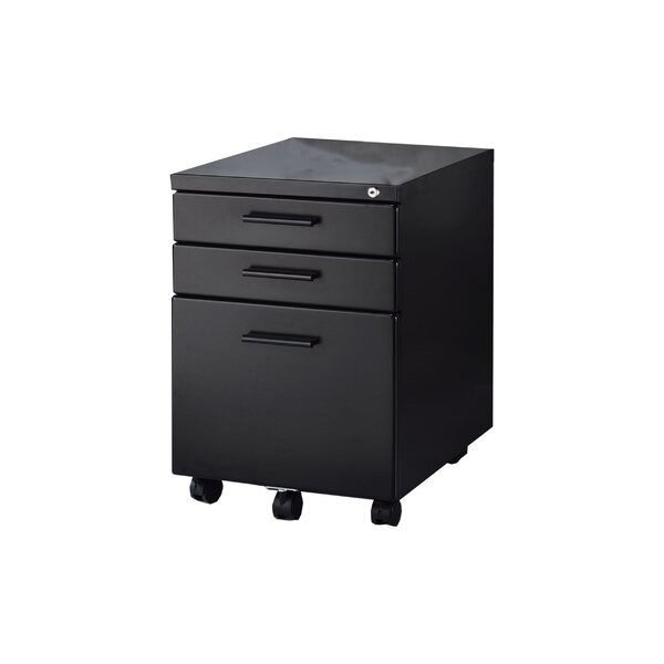 Millersville 3 Drawer Vertical Filing Cabinet