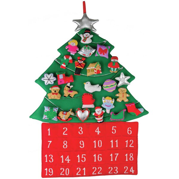 Christmas Tree Fabric Advent Calendar by The Holiday Aisle