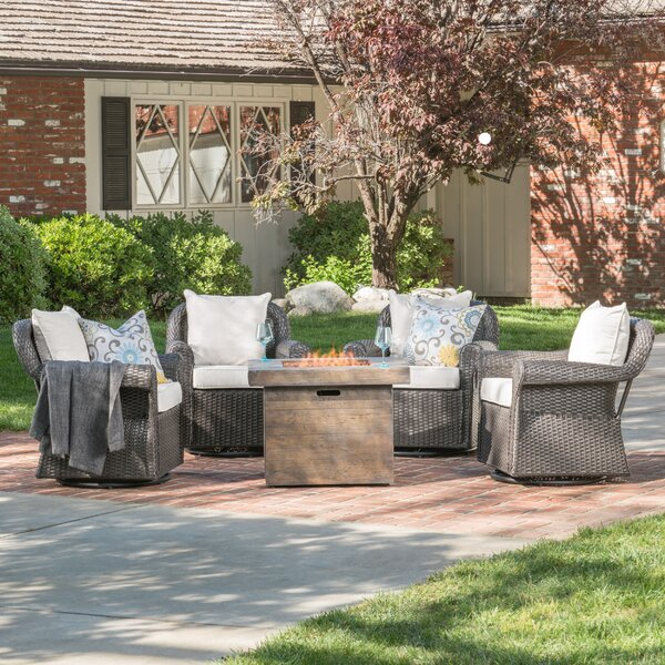 Jillian Patio Chair with Cushion by Darby Home Co