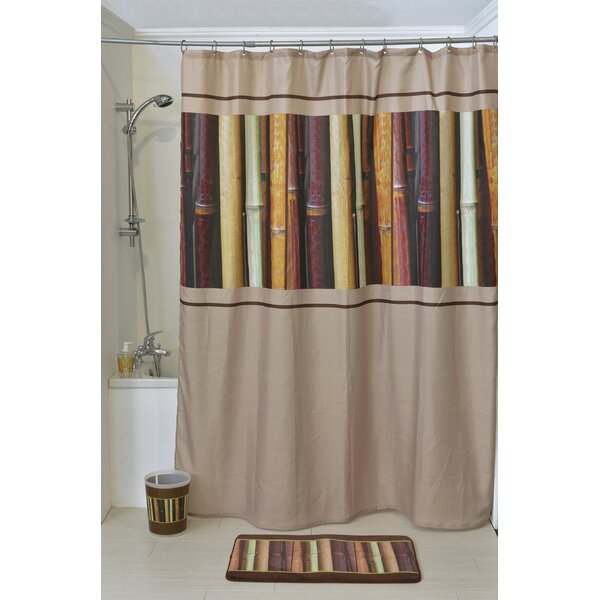 Java Printed Shower Curtain by Evideco