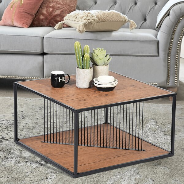 Isai Coffee Table with Tray Top by 17 Stories