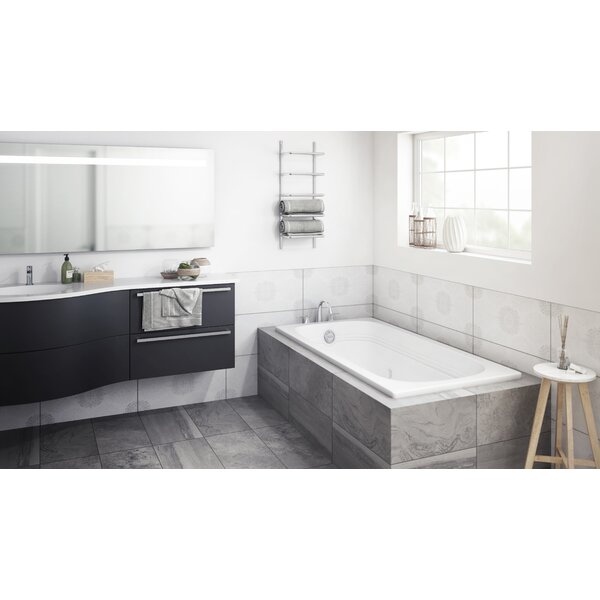 Luxura 60 x 32 Drop In Whirlpool Bathtub by Jacuzzi®