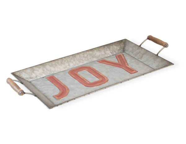 Ferranti Joy Metal Accent Tray by The Holiday Aisle