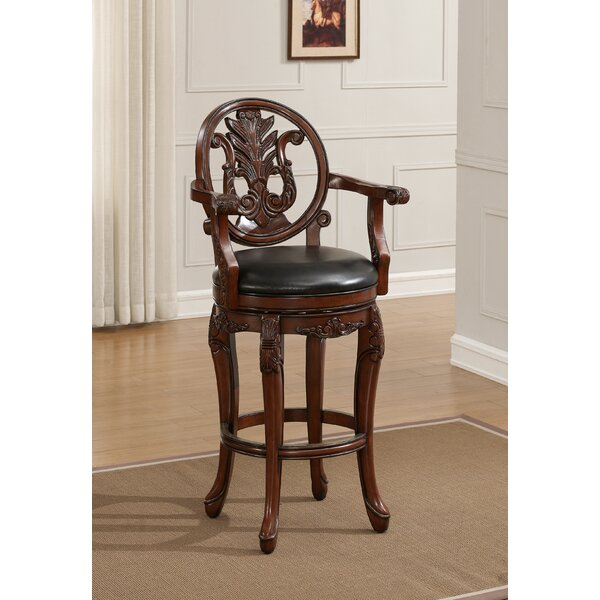 Renata 30 Swivel Bar Stool by American Heritage