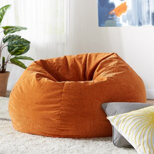 Prime Upholstered Bean Bag Chair Machost Co Dining Chair Design Ideas Machostcouk