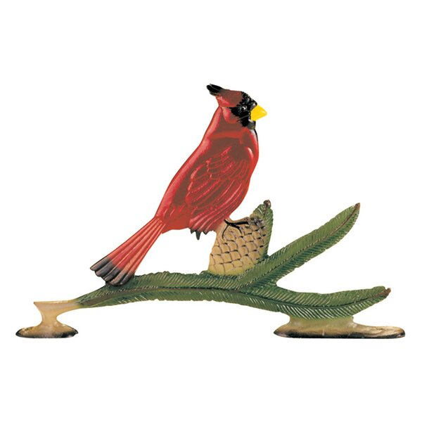 Cardinal Mailbox Ornament by Whitehall Products