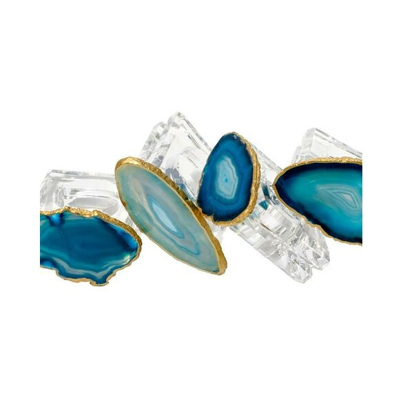 Agate Napkin Ring (Set of 4) by Mapleton Drive