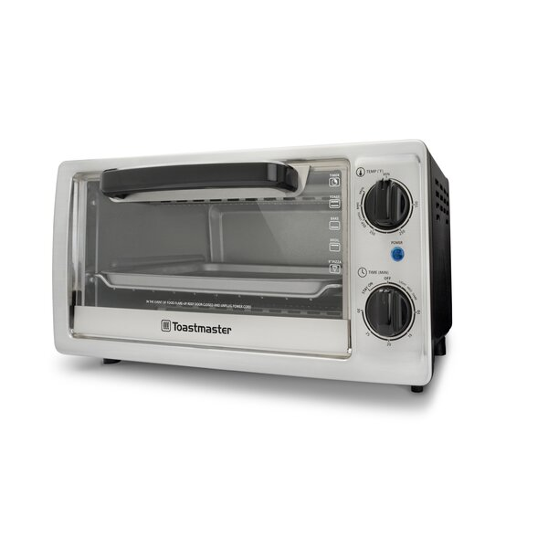0.35-Cubic Foot Toaster Oven by Toastmaster