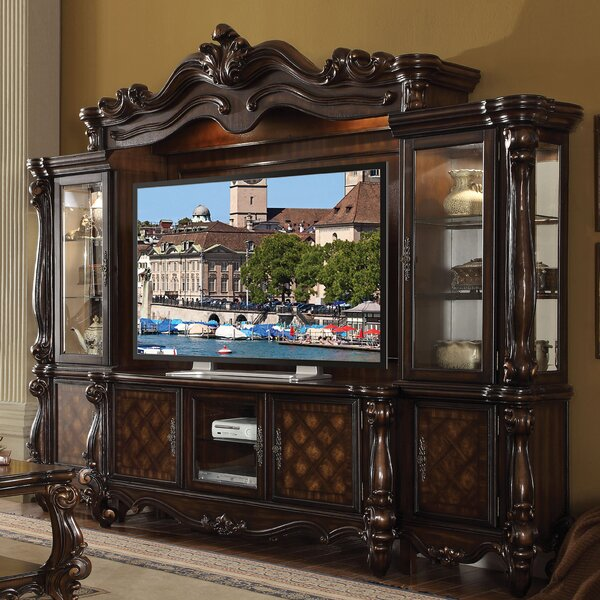 Welton Solid Wood Entertainment Center For TVs Up To 75