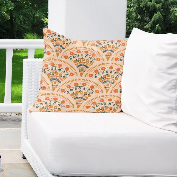 Elmstead Outdoor Square Pillow Cover and Insert