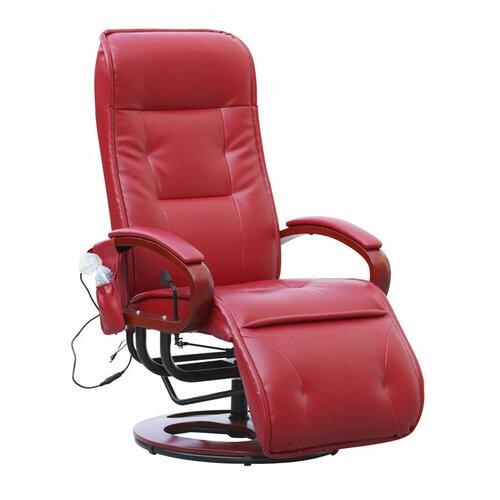 Manuell verstellbarer Relaxsessel Weisner Marlow Home Co. Polsterfarbe: Rot | Wohnzimmer > Sessel > Relaxsessel | Marlow Home Co.