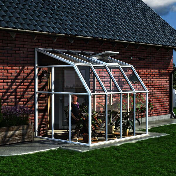 Sun Room 8.1 Ft. W x 6.5 Ft. D Greenhouse by Rion Greenhouses