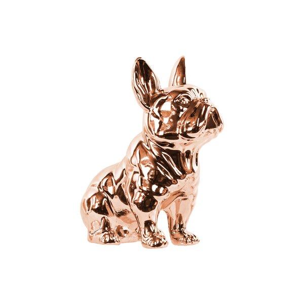 Vernita Sitting Bulldog Figurine by Charlton Home