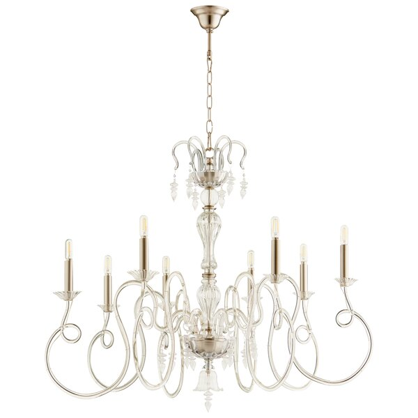 Spectre 8 - Light Candle Style Chandelier
