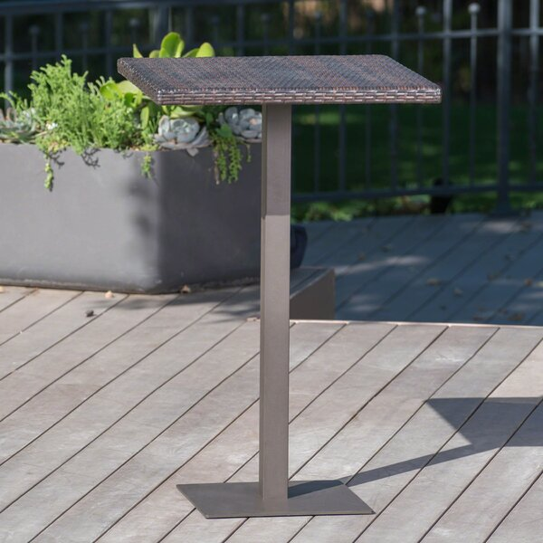 Crater Outdoor Bar Table by Ivy Bronx