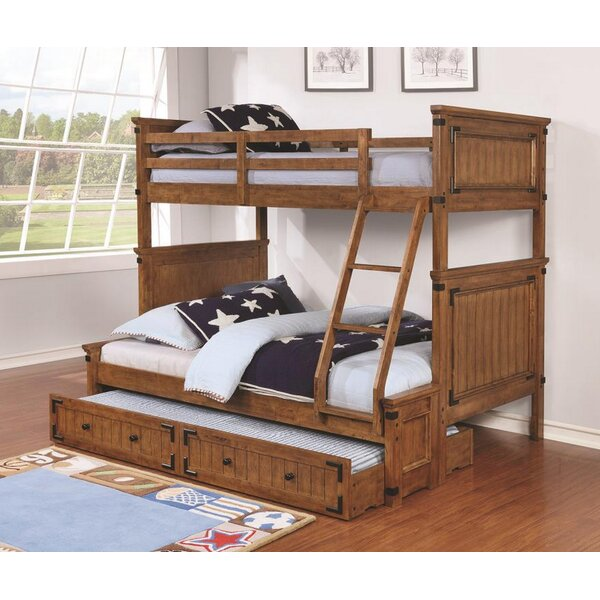 Velez Full Over Twin Bunk Bed with Trundle by Harriet Bee