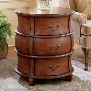 Plantation Bentley End Table With Storage by Butler