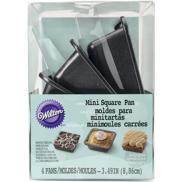 Metal Cookie Rectangle Cutter (Set of 3) by Wilton