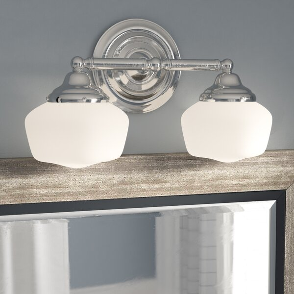 Sainz 2 Light Vanity Light [Laurel Foundry Modern Farmhouse]