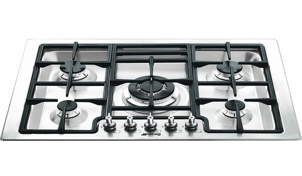 30 Gas Cooktop with 5 Burners by SMEG