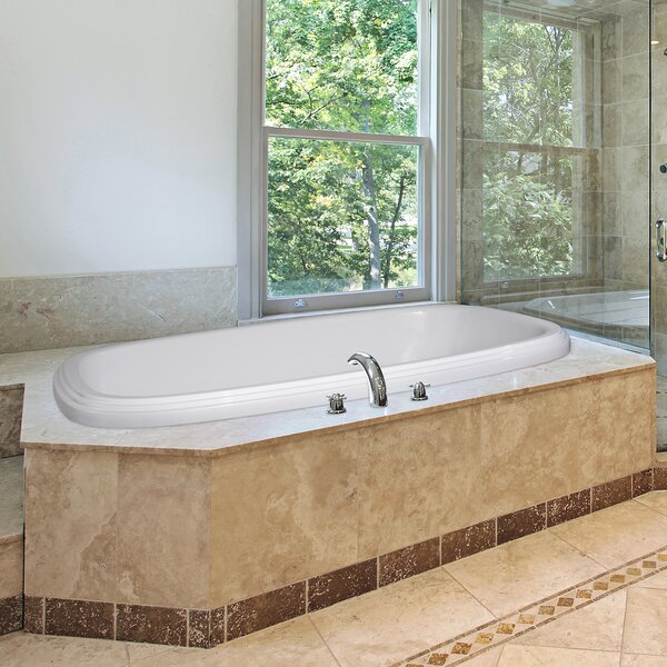Designer Sylvia 60 x 38 Air Tub by Hydro Systems