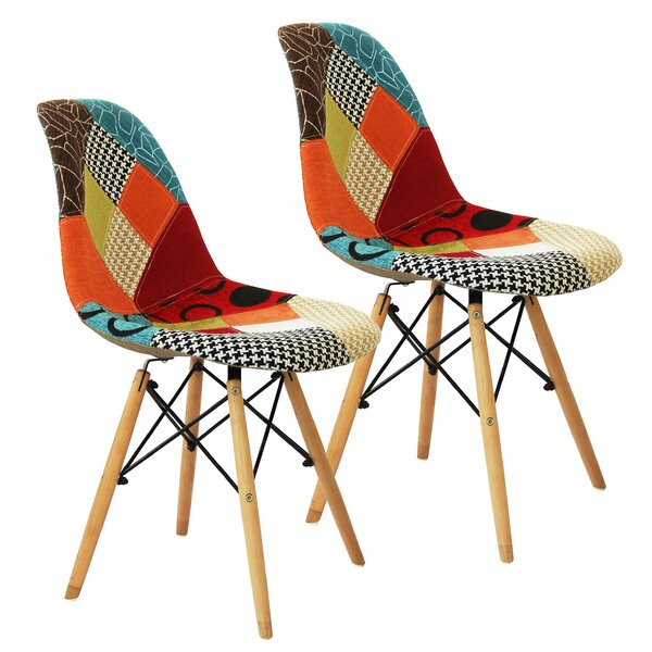 Borup Upholstered Dining Chair (Set of 2) by Corrigan Studio