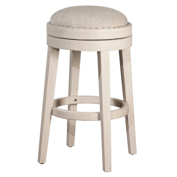 Montpelier 30 Swivel Bar Stool by Rosecliff Heights