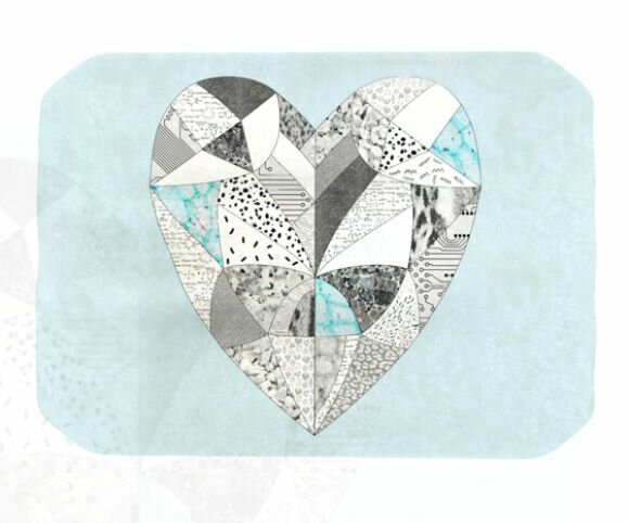 Comheartment Placemat by KESS InHouse