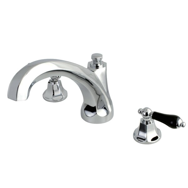 Duchess Double Handle Deck Mounted Roman Tub Faucet By Kingston Brass