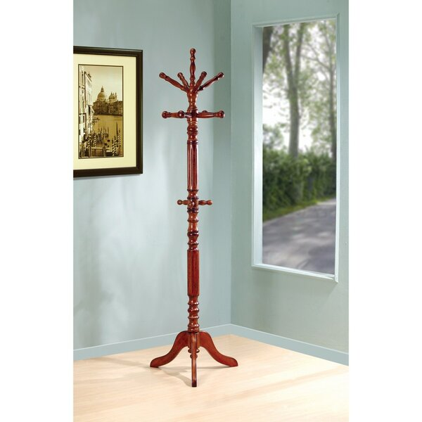 Jobe Wooden Coat Rack by Astoria Grand