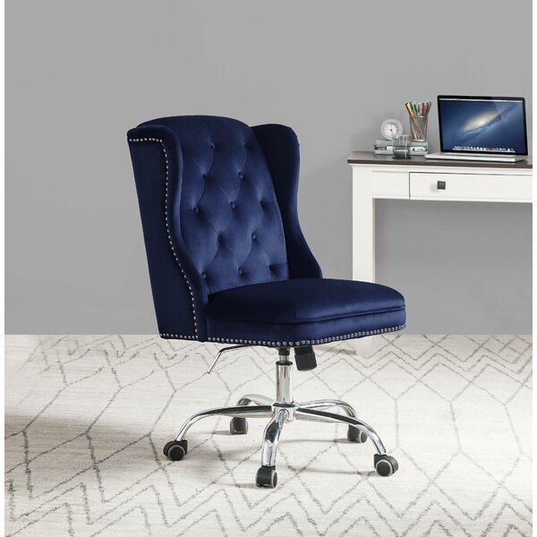 Erlandson Velvet Task Chair