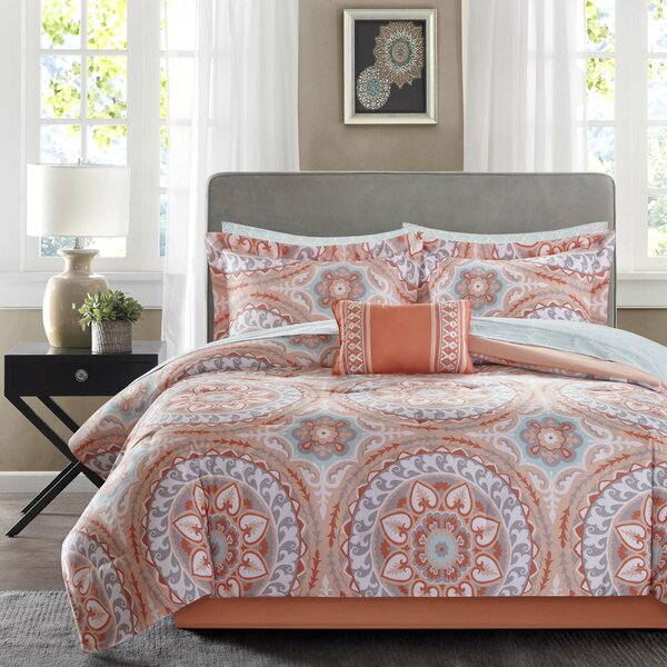 Daisetta Complete Comforter and Cotton Sheet Set by Bungalow Rose