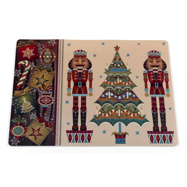 Nutcracker Holiday Placemat (Set of 4) by Ben and Jonah