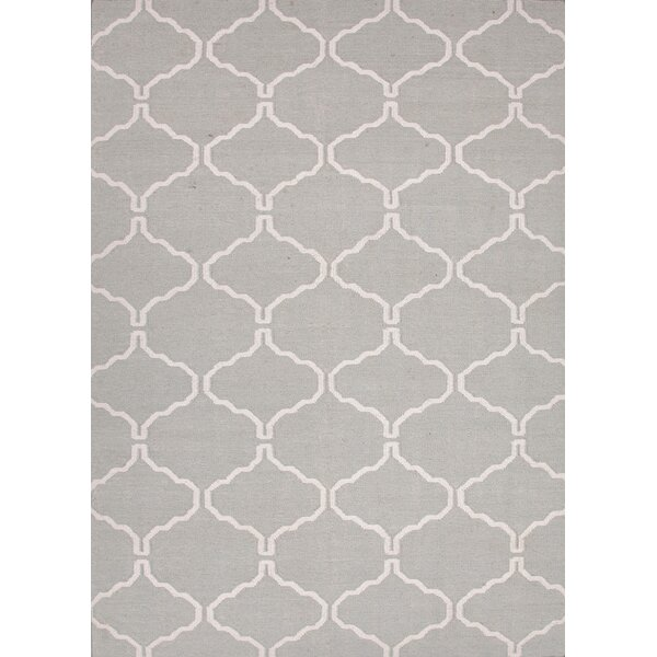 Caresse Hand-Woven Luxurious Gray Area Rug by Willa Arlo Interiors