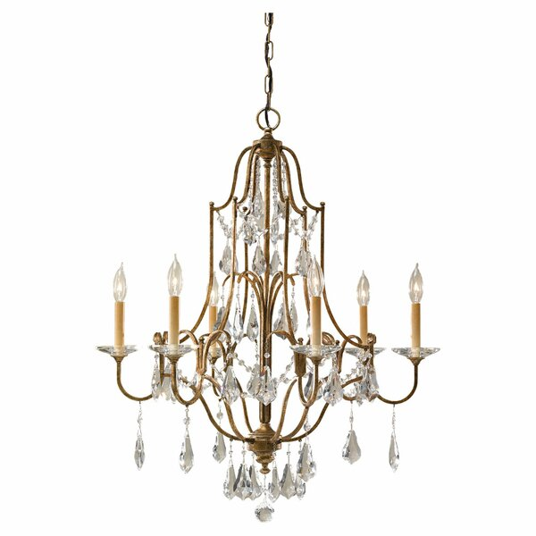 Drewett 6-Light Candle Style Empire Chandelier By Astoria Grand