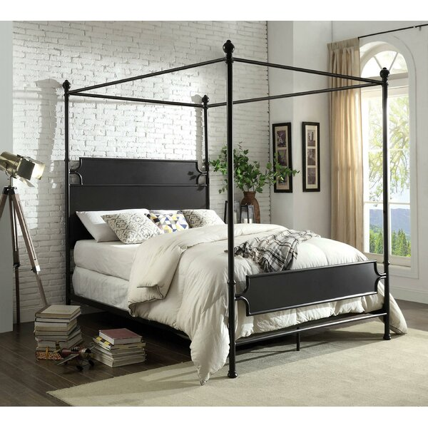 Jenkins Canopy Bed by Gracie Oaks