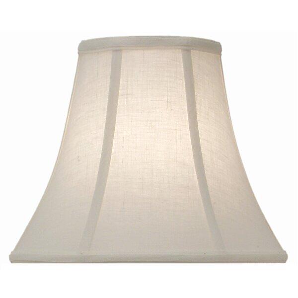 10 H Linen Bell Lamp Shade ( Spider ) in Cream Aberdeen
