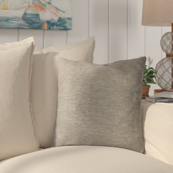 Causeway Luxury Throw Pillow by Longshore Tides