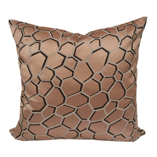 Chancy Modern Geometric Throw Pillow by Wrought Studio