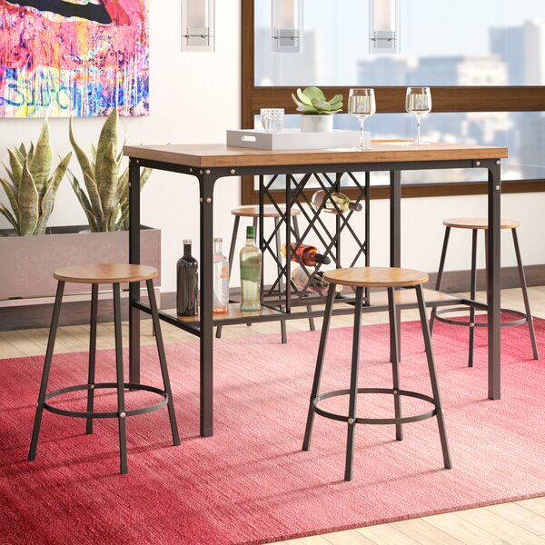 Calla 5 Piece Pub Table Set by Latitude Run