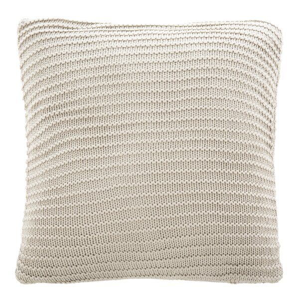Byler Knit Cotton Throw Pillow by Union Rustic